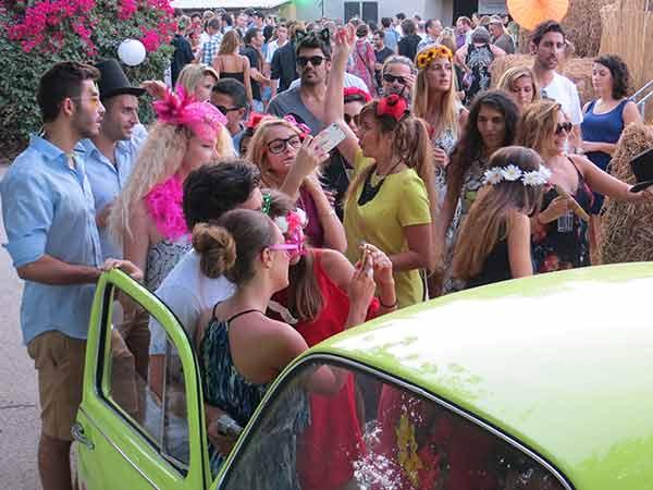 אטרקציה לפסטיבלים