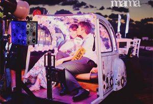 אטרקציה לחתונה בחצי רכב